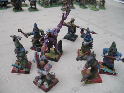 [Vend] Armée Chaos Tzeentch peinte +2000pts Bande