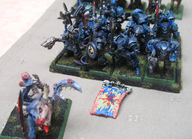 [Vend] Armée Chaos Tzeentch peinte +2000pts Guerriers