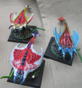 [Vend] Armée Chaos Tzeentch peinte +2000pts Hurleurs