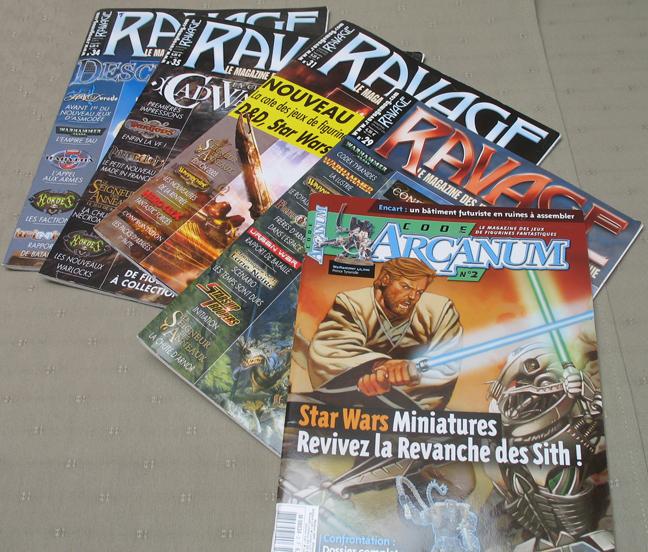 [Vend] Divers : Magazines Ravage, Jeux PC, ... Ravage
